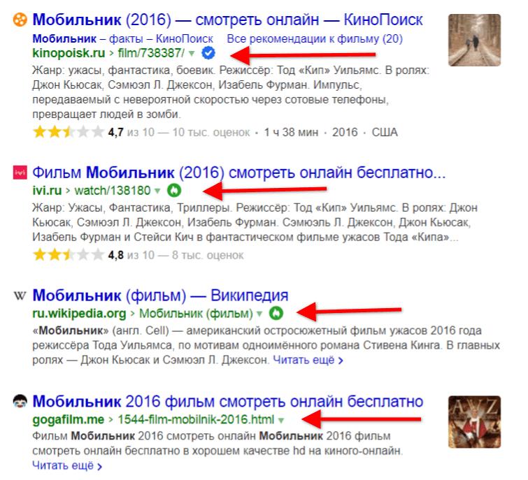 Знаки Яндекса для поиска - как получить сайту