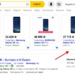 Цена в объявлениях Яндекс Директ