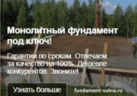 Настройка рекламной кампании в Яндекс Директ – Монолитные фундаменты под ключ -объявление в РСЯ