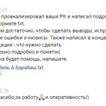 Аудит рекламной кампании Яндекс директ – пример, отзыв